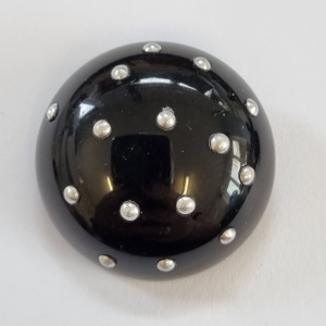 black-dome-gold-dot-button_342_sq